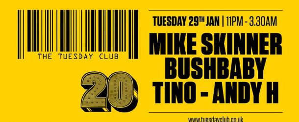 The Tuesday Club: Mike Skinner, Bushbaby, Tino, Andy H